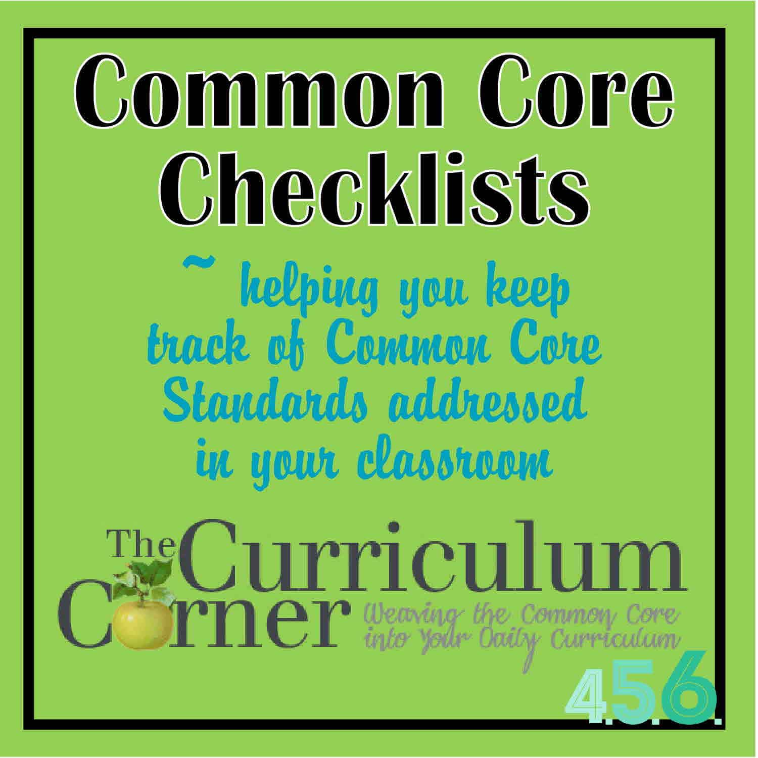 S Th Nd Eighth Gr De M C E Checklists By Curriculum