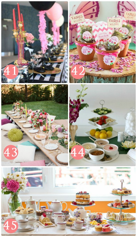 Party Theme Out Night Ideas Girls