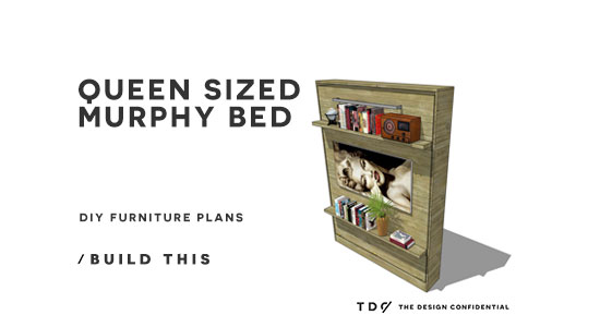 Free Diy Furniture Plans How To Build A Queen Sized
