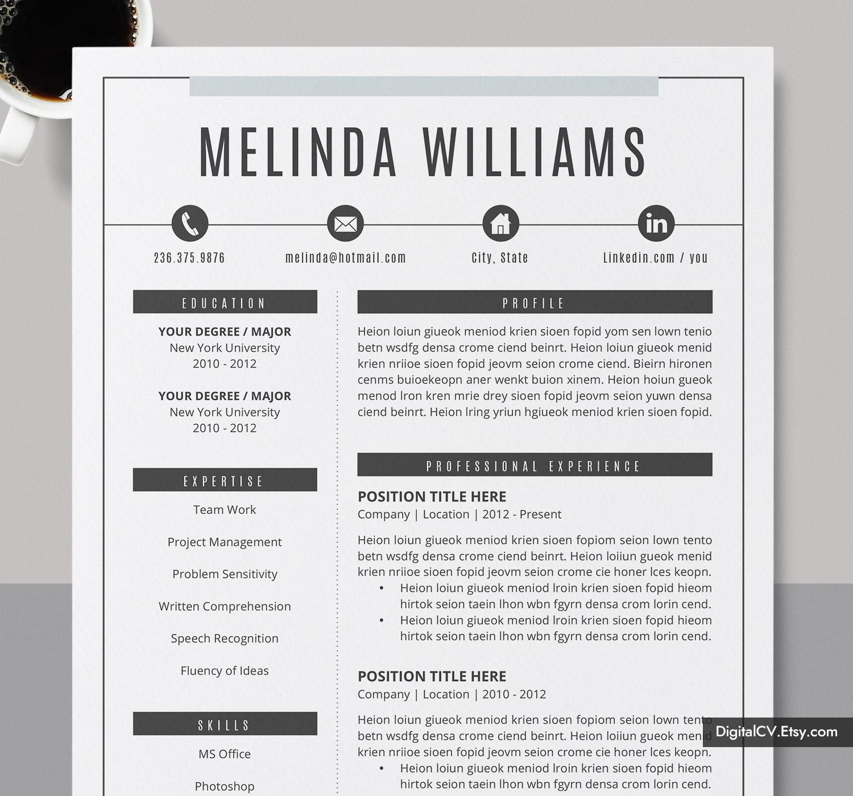 Microsoft Word Resume Template 2019 2020 Job Resume