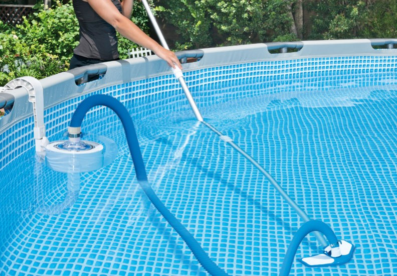 Portable Pool Vacuum System Diagram