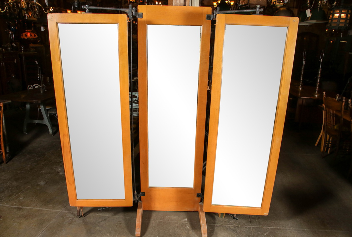 Tri Fold Mirror Full Length Home Design Ideas