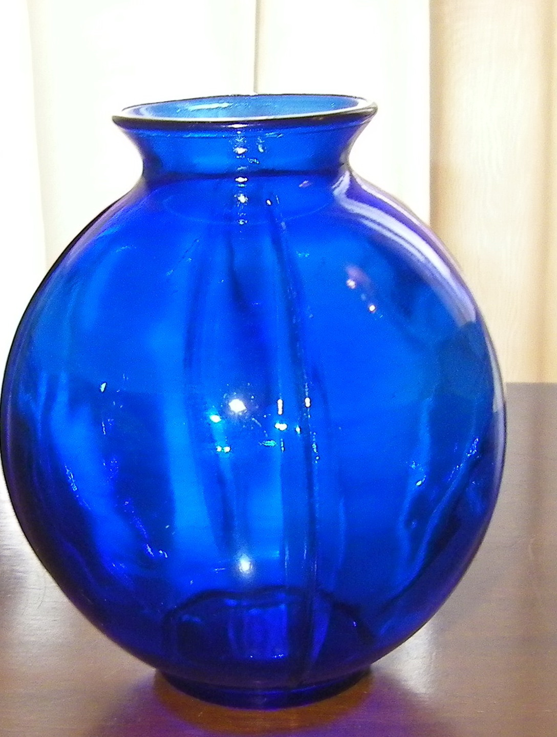 Vintage Blue Glass Vases Home Design Ideas
