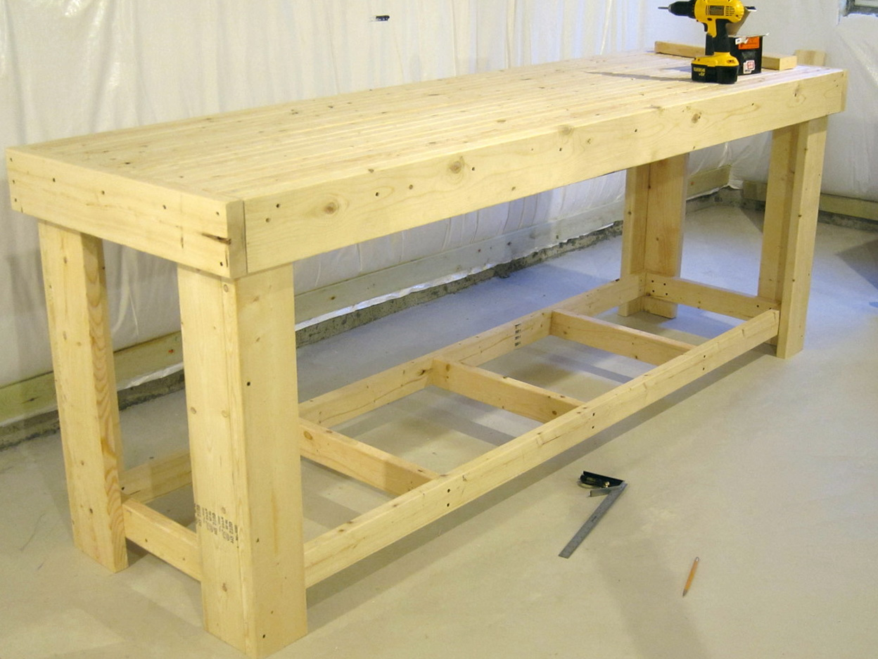 Free Workbench Plans Home Design Ideas