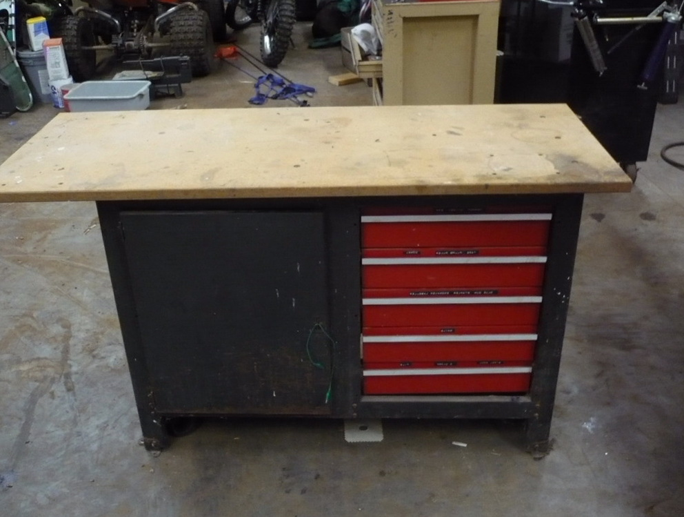 Craftsman Workbench 5 Drawer Home Design Ideas