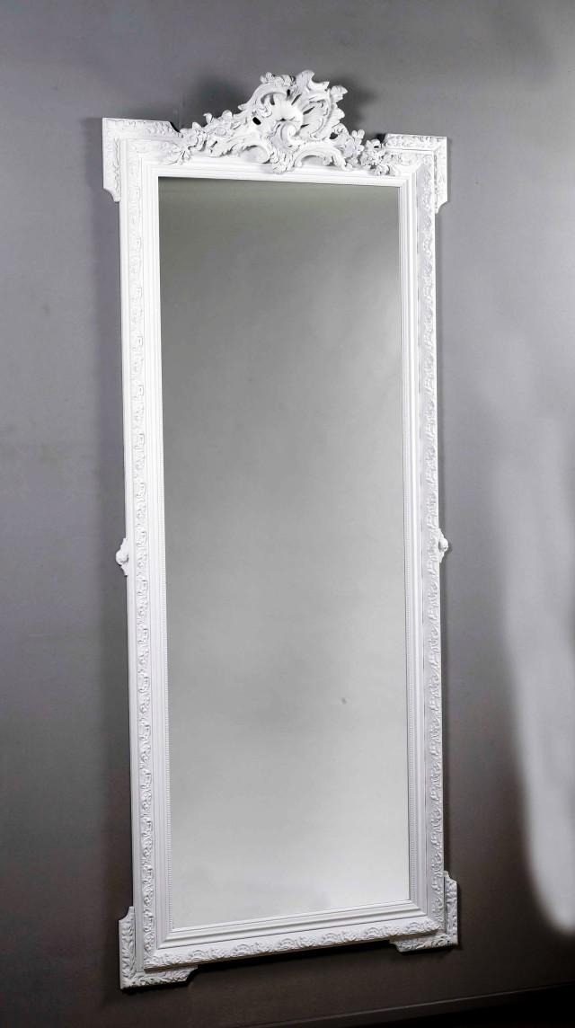 White Framed Full Length Wall Mirror Home Design Ideas