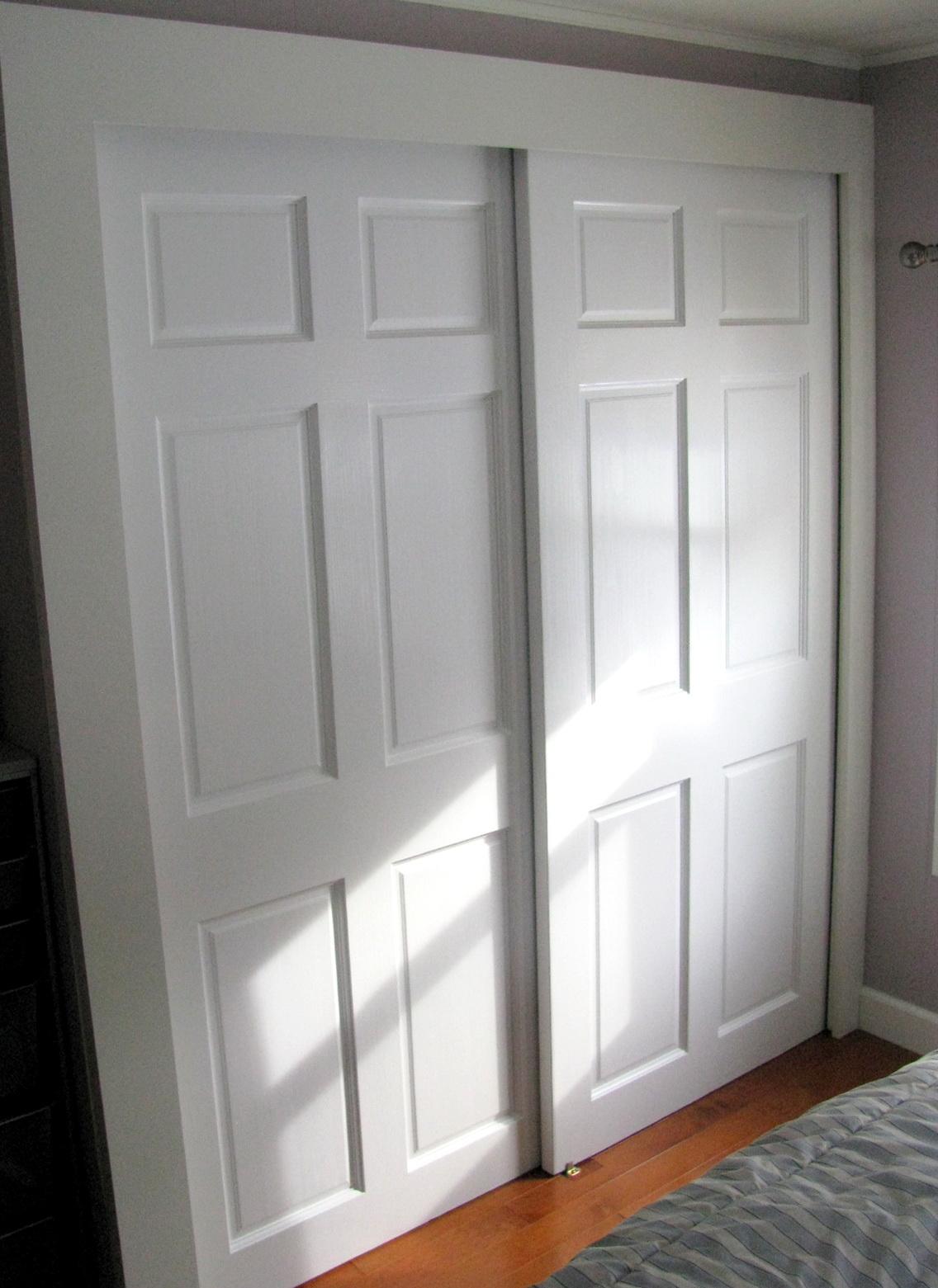 Bypass Closet Doors For Bedrooms Home Design Ideas