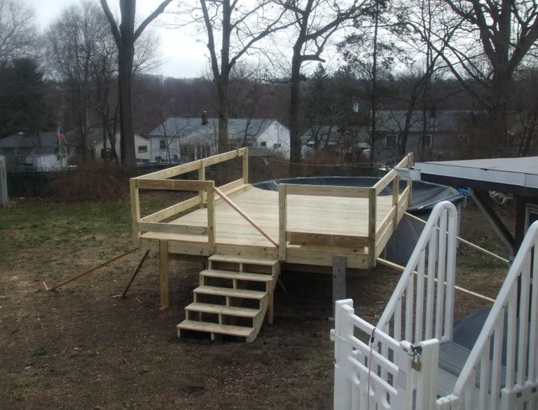 Pool Deck Kits Lowes Home Design Ideas