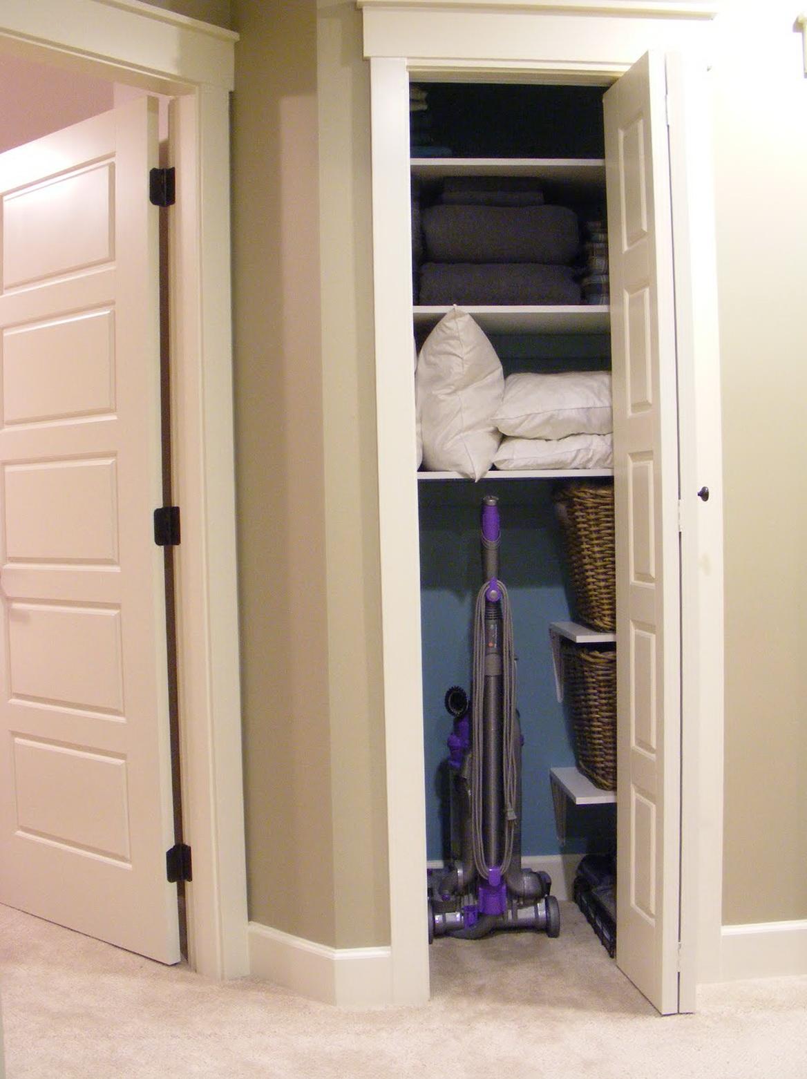 Small Linen Closet Doors Home Design Ideas
