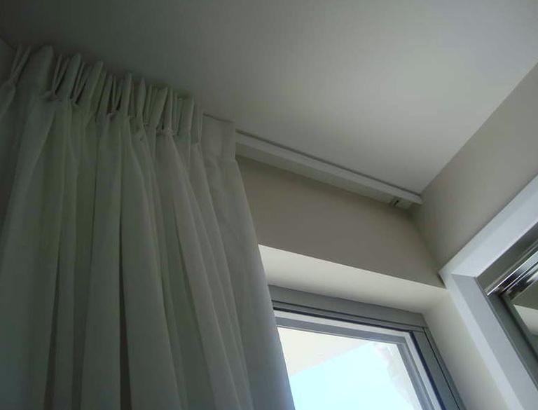 Ceiling Curtain Track Ikea Home Design Ideas