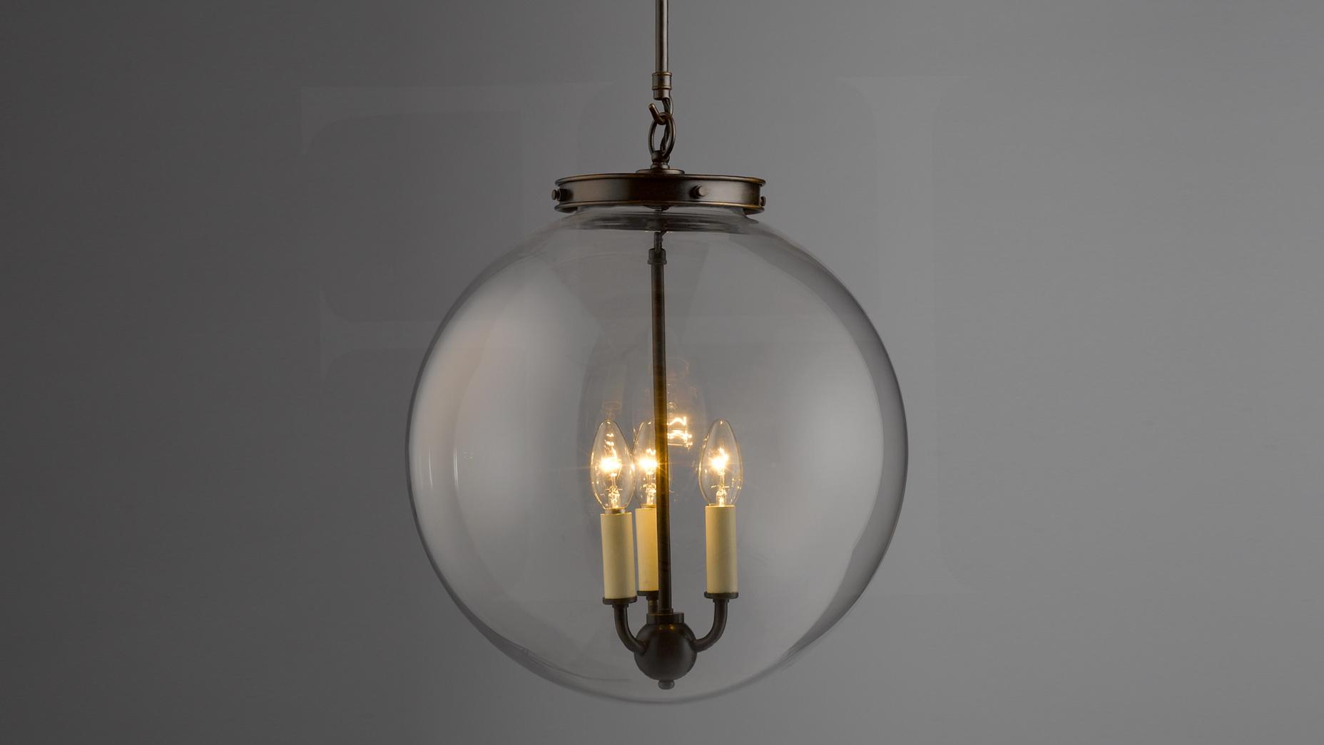 Clear Glass Ball Chandelier Home Design Ideas
