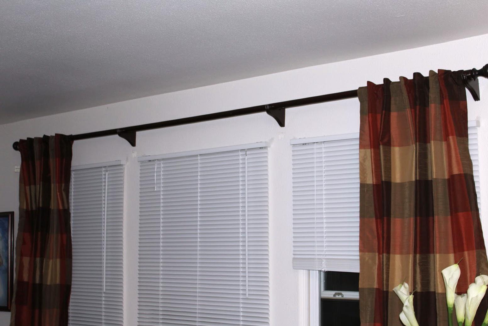 Extra Long Curtain Rods Amazon Home Design Ideas