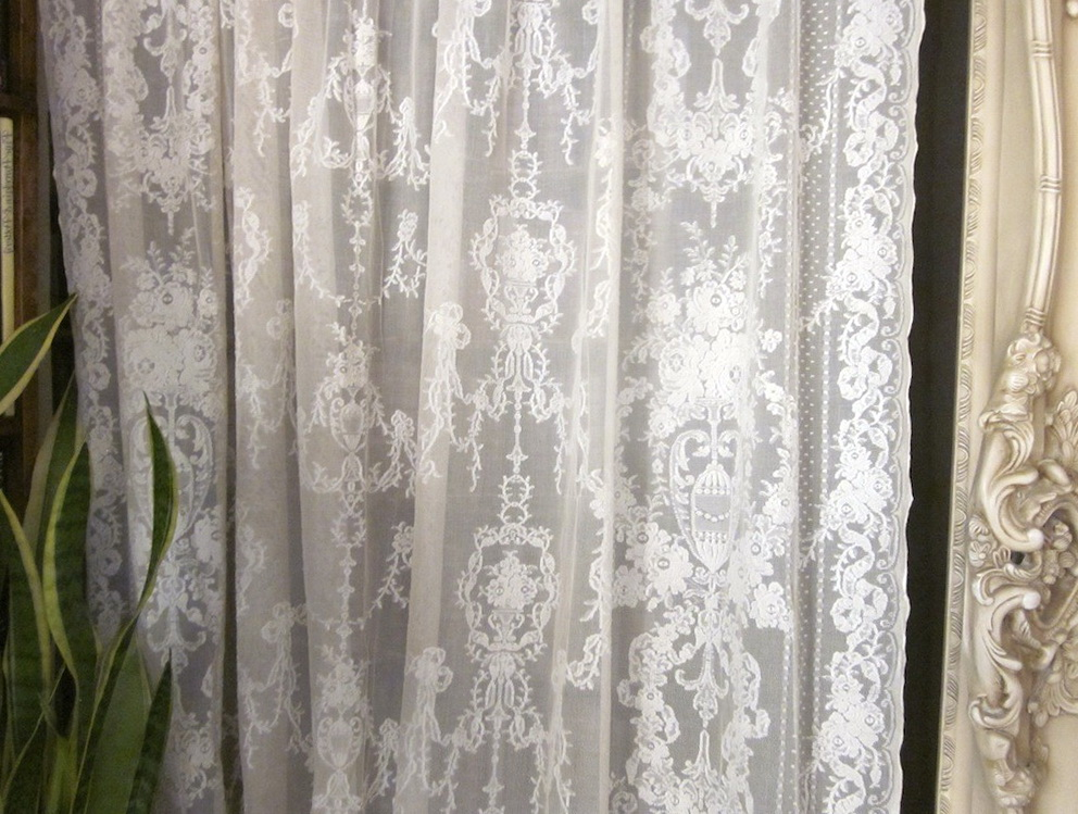 Vintage Lace Curtain Panels Home Design Ideas