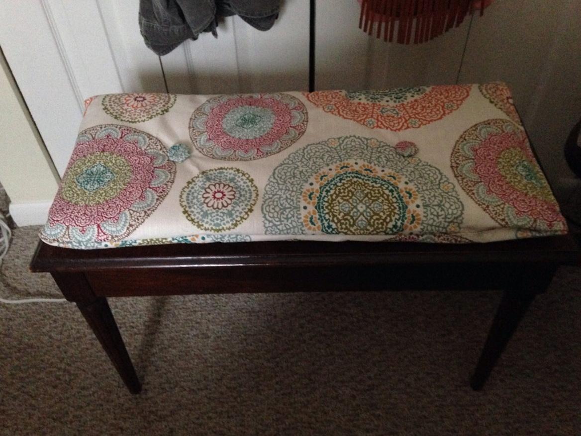 Piano Bench Cushion Diy Home Design Ideas