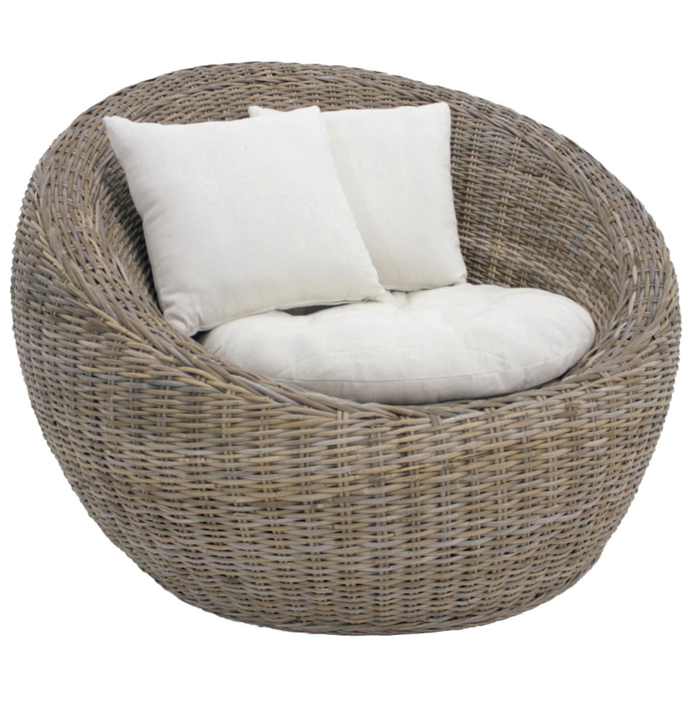 Round Wicker Chair Cushions Home Design Ideas