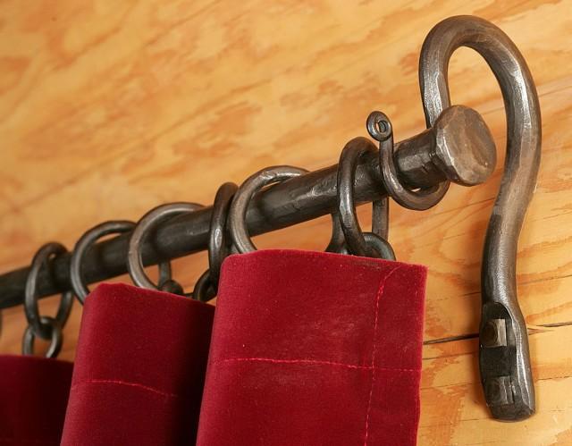 Inside Mount Cafe Curtain Rod Home Design Ideas