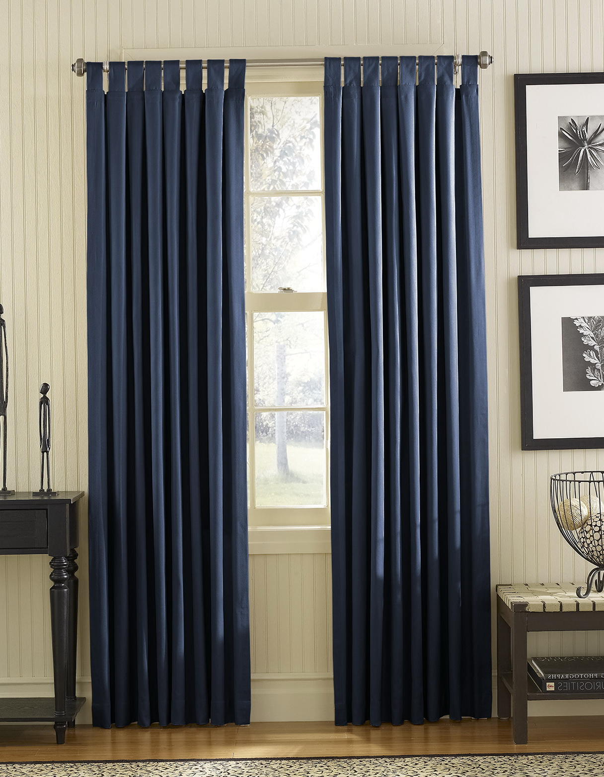 Small Window Long Curtains Home Design Ideas