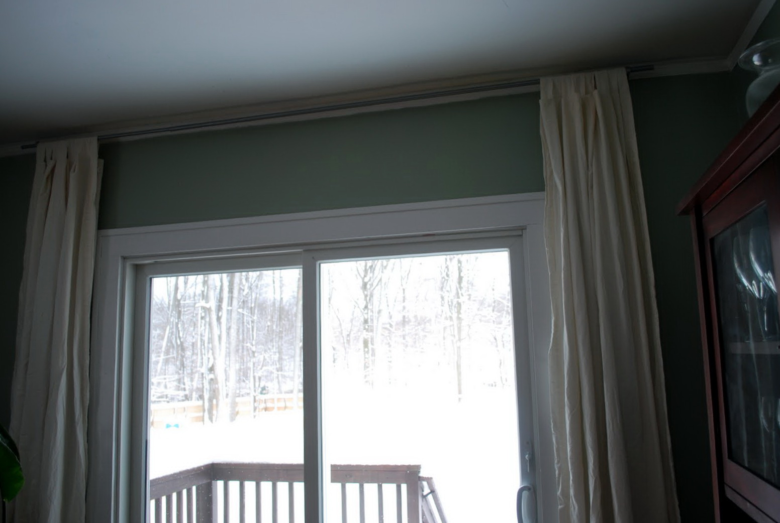 Wide Curtain Rods Without Center Support Home Design Ideas