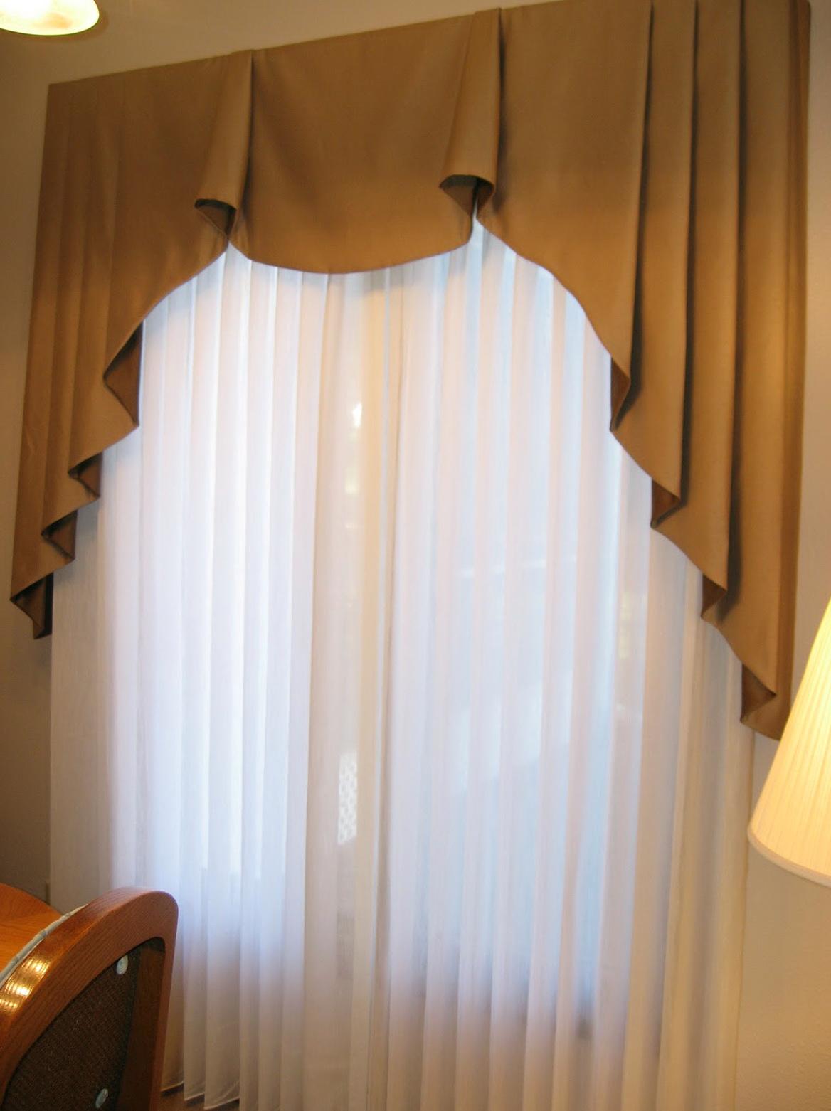 Pleated Sheer Curtains Window Treatments Home Design Ideas