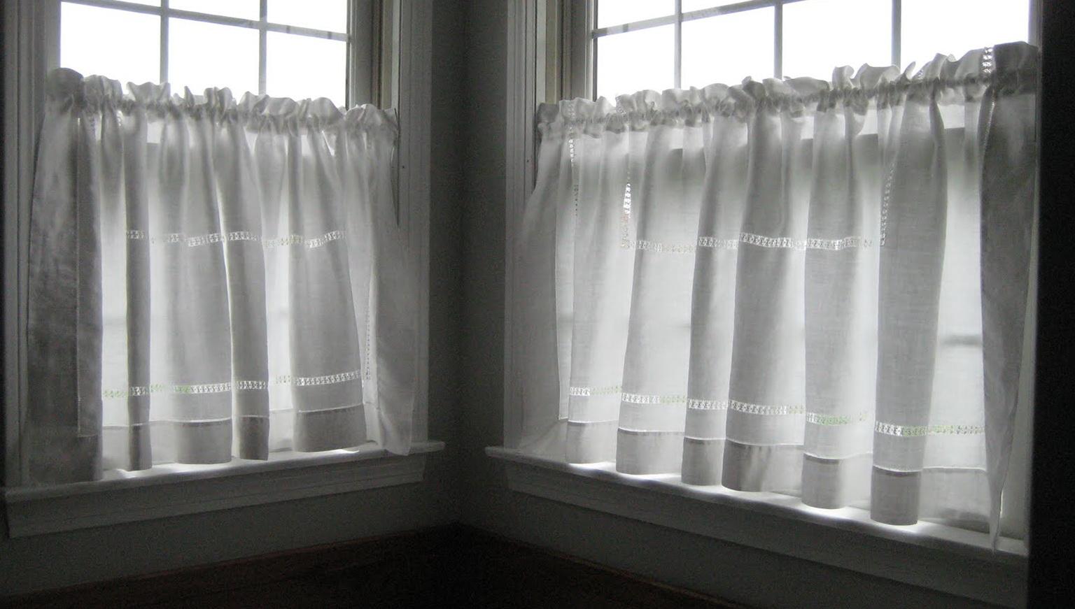 White See Through Curtains Home Design Ideas