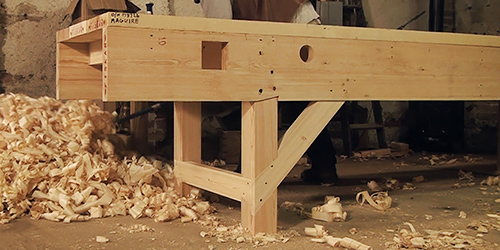 How To Build A Workbench Woodworking Workbench The