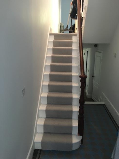 Stairs Carpet Portfolio The Flooring Group | Light Grey Carpet Stairs | Industrial | Runner | Modern | Grey Vinyl Flooring | Living Room