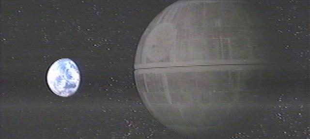 Star Wars Alderaan Exploding