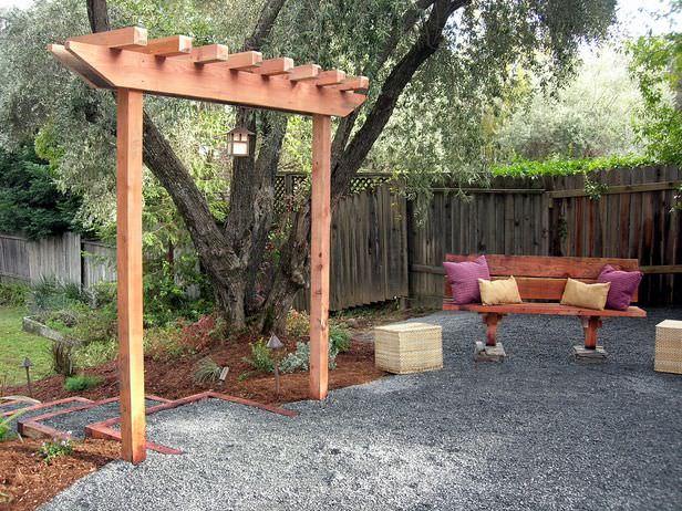 Building Garden Arbor