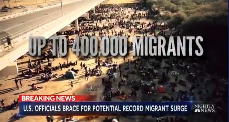 Biden administrator prepares for an increase of up to 400,000 migrants in October