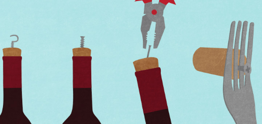 Open a Wine Bottle without a Corkscrew using these tools