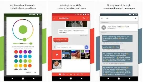 Pulse sms app