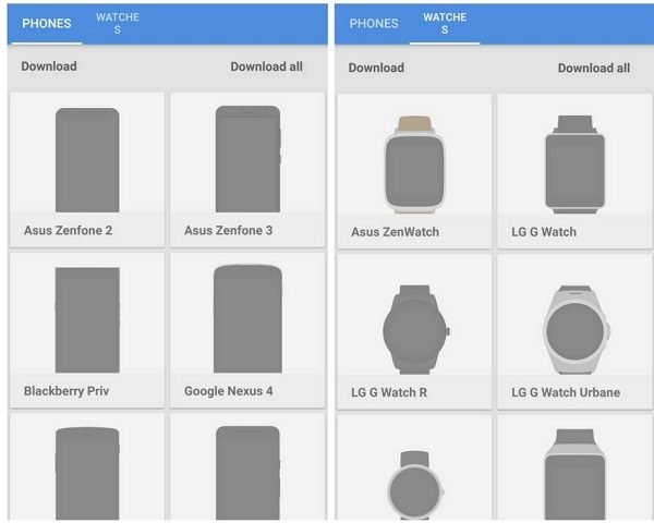 take screenshots with device frames
