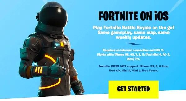 Fortnite game