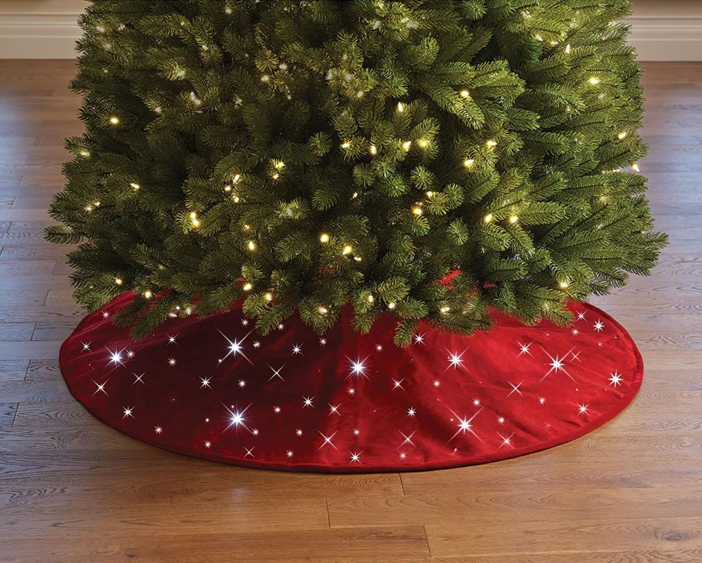 Christmas White Cool Led Lights Tree
