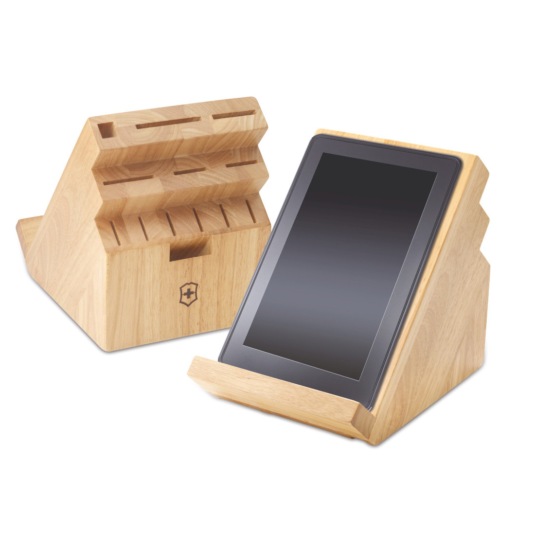 Knife Block Ipad Stand Cutting Board