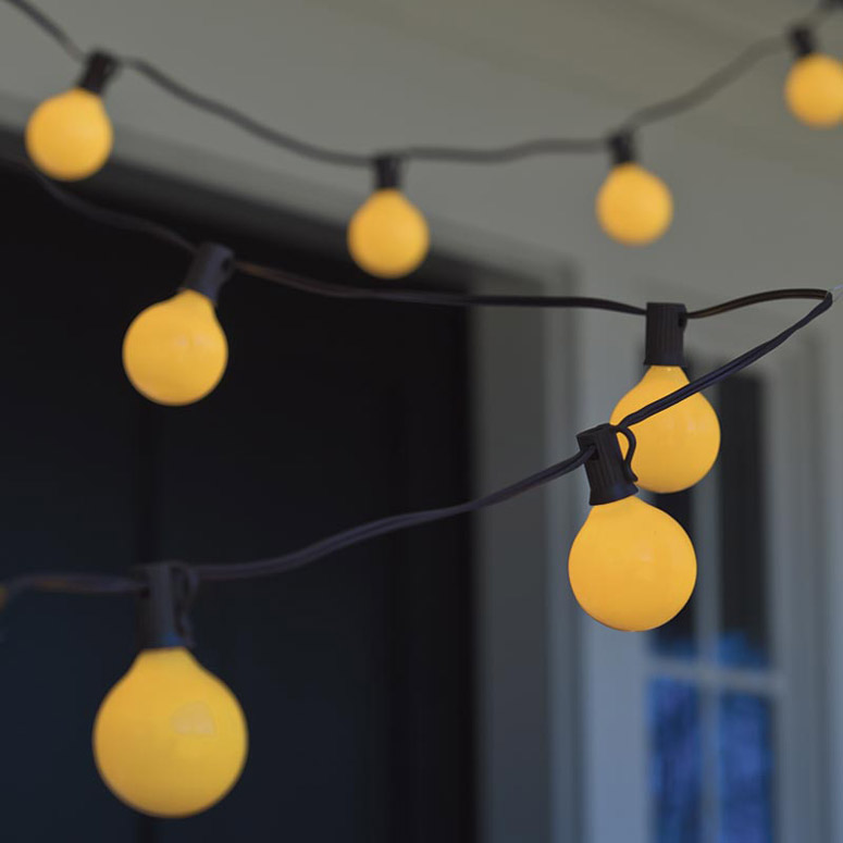 Yellow Bug Light Bulbs