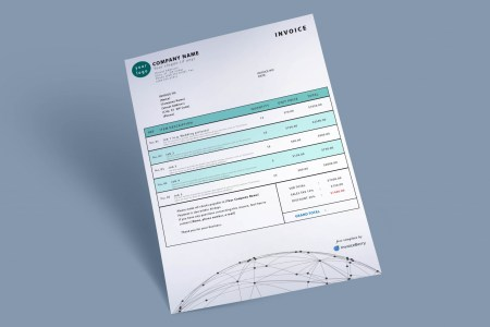 Free Invoice Templates by InvoiceBerry   The Grid System invoice template spheretech by invoiceberry