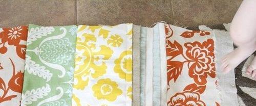 DIY : a patchwork lumbar pillow