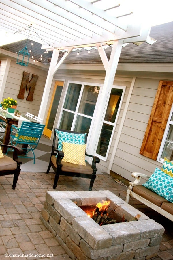 How_to_install_patio_pavers_and_a_fire_pit_finished
