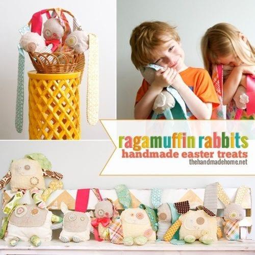ragamuffin rabbits: handmade easter treats