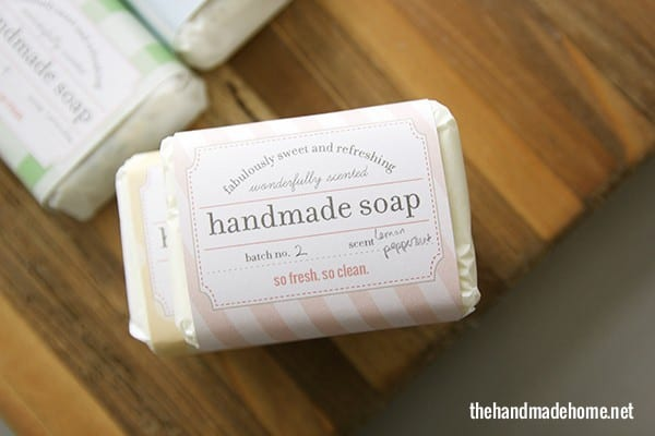 soap label