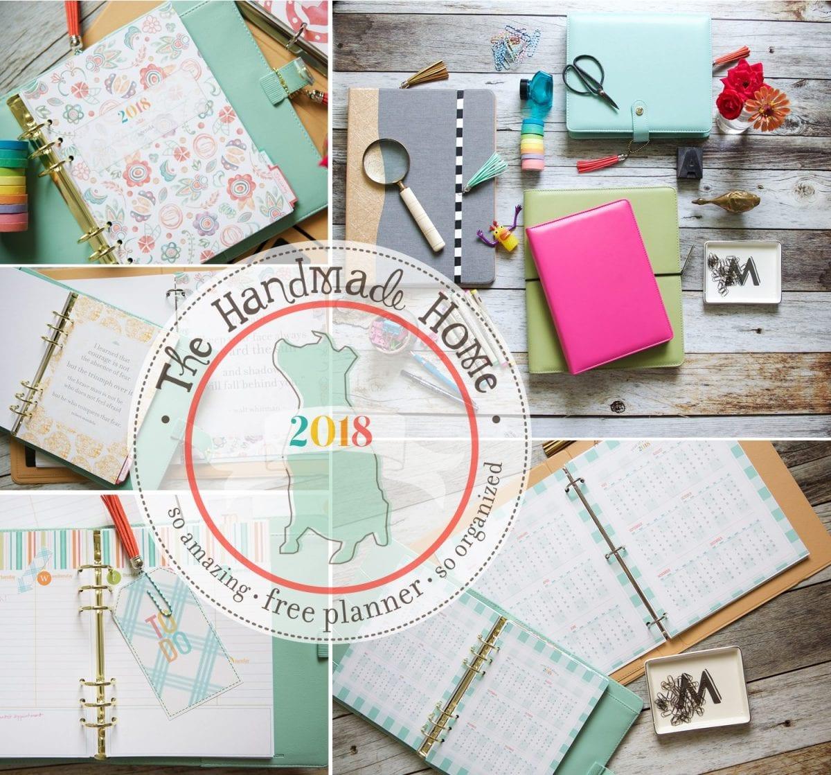 2018 free planner
