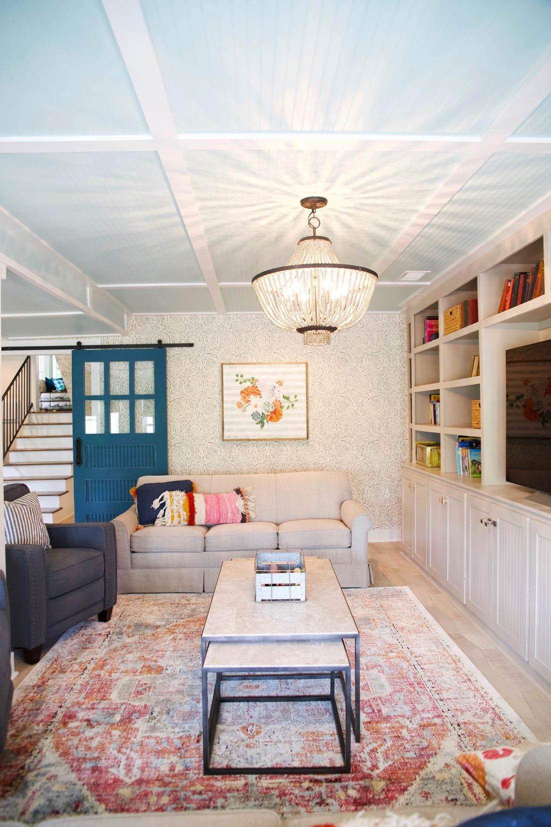 tips for a basement renovation - light