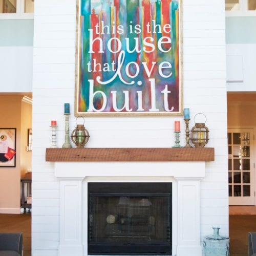 tips for a great mantel