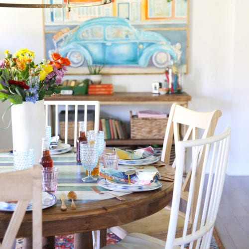 a table makeover with frogtape®
