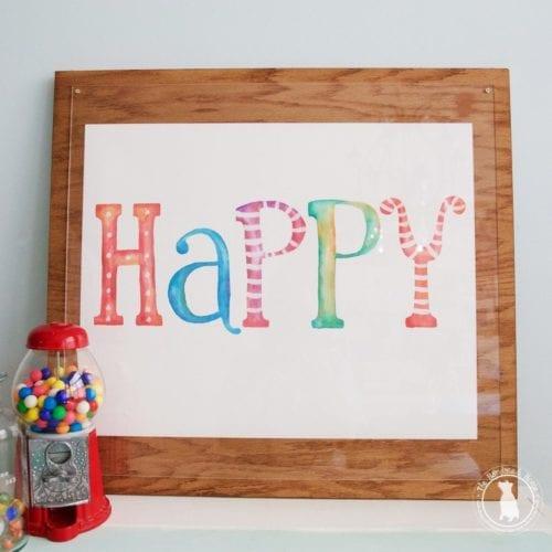happy – free art