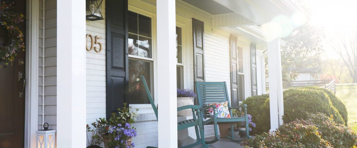 top five tips for a welcoming porch