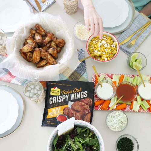 easy meal ideas with foster farms wings