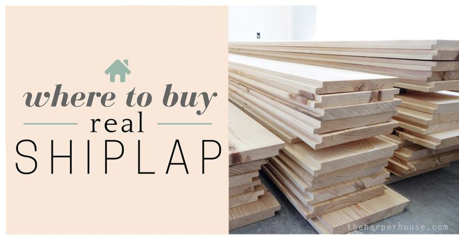 Where to Buy Shiplap   The Harper House