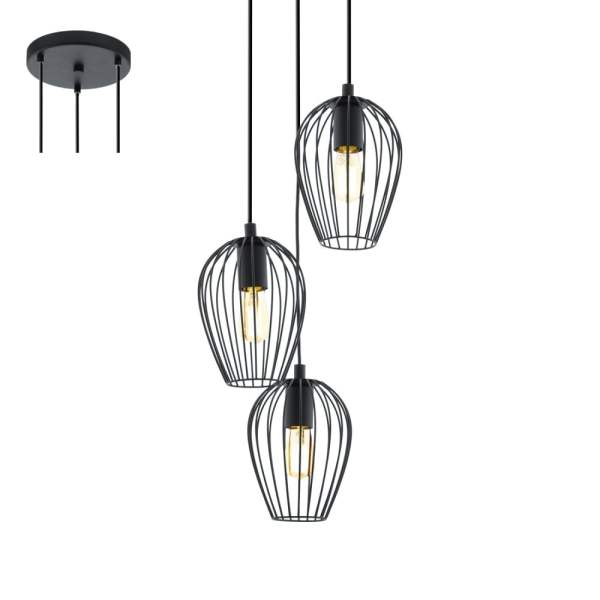 industrial cluster pendant lighting # 79